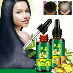 Ginger Efficient Hair Growth Essential Oil Loss Natural grow