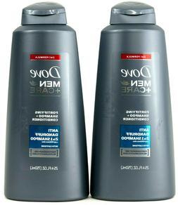 Dove Shampoo Anti-Dandruff 25.4oz Mens Fortifying