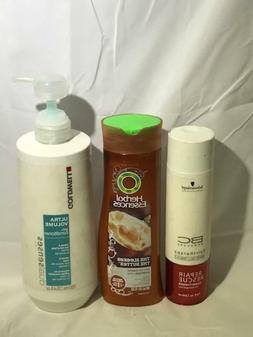 Assorted Shampoos and Repairing Hair Products