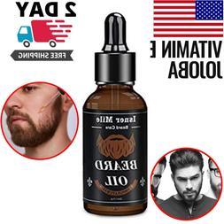 Beard Growth Oil Facial Hair Growth Care Product Mustache Fa