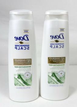 Dove Invigorating Mint 2 in 1 Shampoo and Conditioner, 12 oz