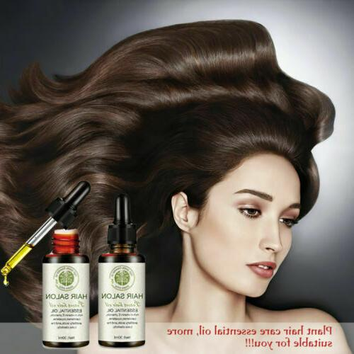 100% Natural Essential Products Treatment Hair Salon