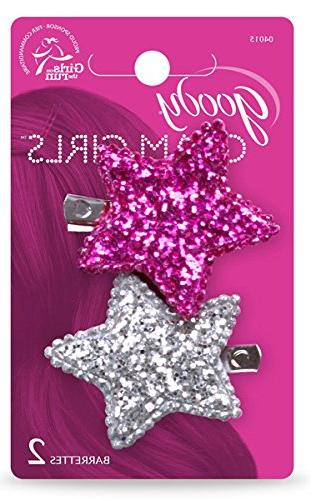 Goody 2 Count Large Star Clip