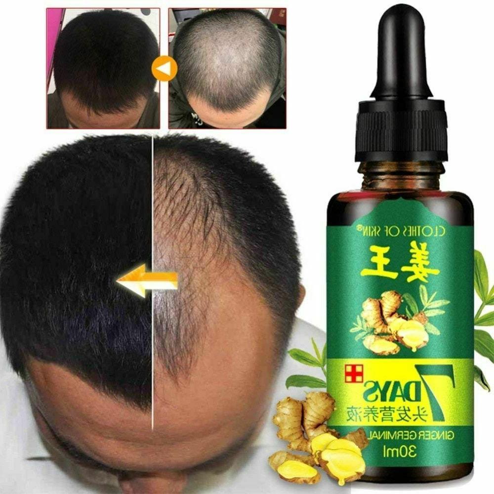 hair growth essential oils ginger germinal fast