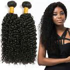 Long Kinky Curly Hair Products 300g Brazilian Human Hair Ext