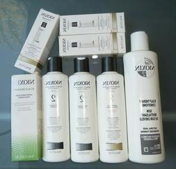 Set of 8 Nioxin Hair Care Products ALL NEW